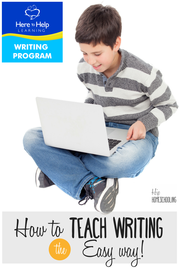How to Teach Writing the Easy Way! writing curriculum | here to help learning review | here to help learning | writing curriculum middle school | writing curriculum elementary school | writing curriculum kindergarten | writing curriculum 4th grade | homeschool writing | homeschool writing curriculum | homeschool writing ideas | homeschool writing prompts | writing inspiration | homeschool language arts