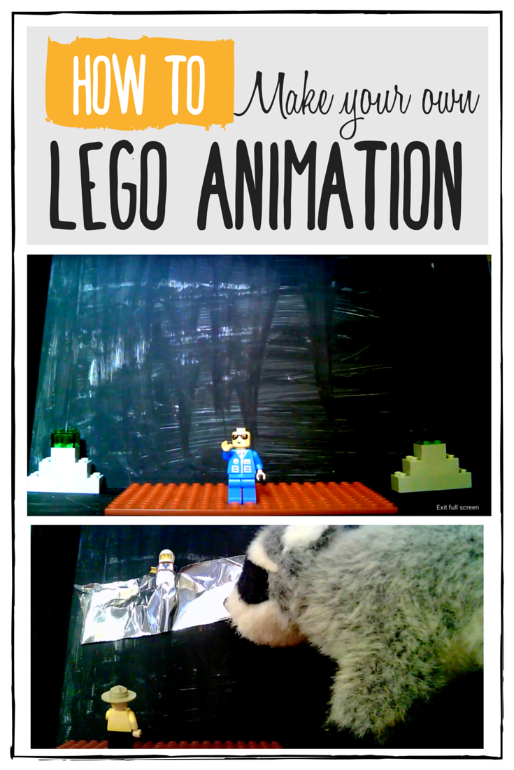 How to make your own Lego animation, this is too cool!