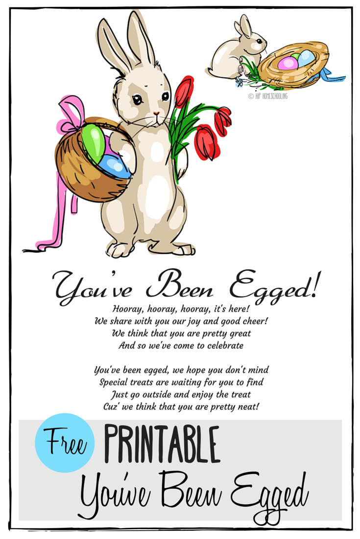 photo relating to You've Been Egged Printable referred to as Youve Been Egged Printable