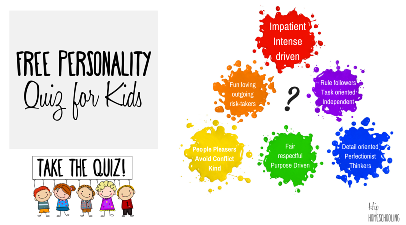The Color Personality Test for Kids