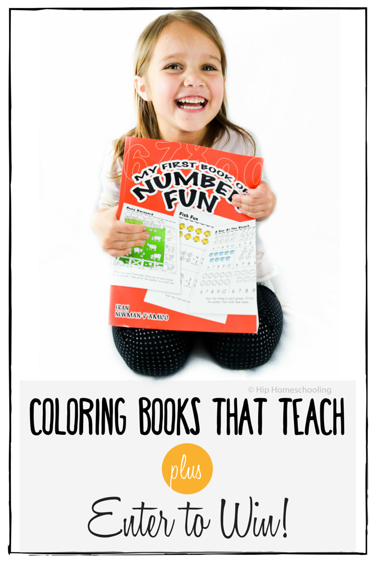 Coloring Books that teach with Dover Publications