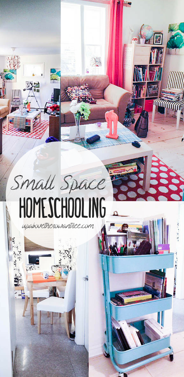 Small Space Homeschooling (yes, it IS possible!)