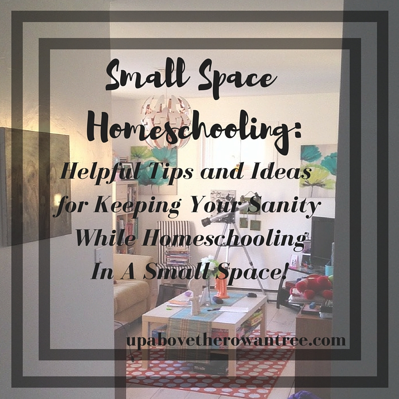 small space homeschool tips