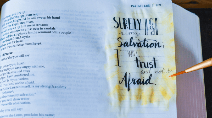 Interested in Bible Journaling? How to Get Started…