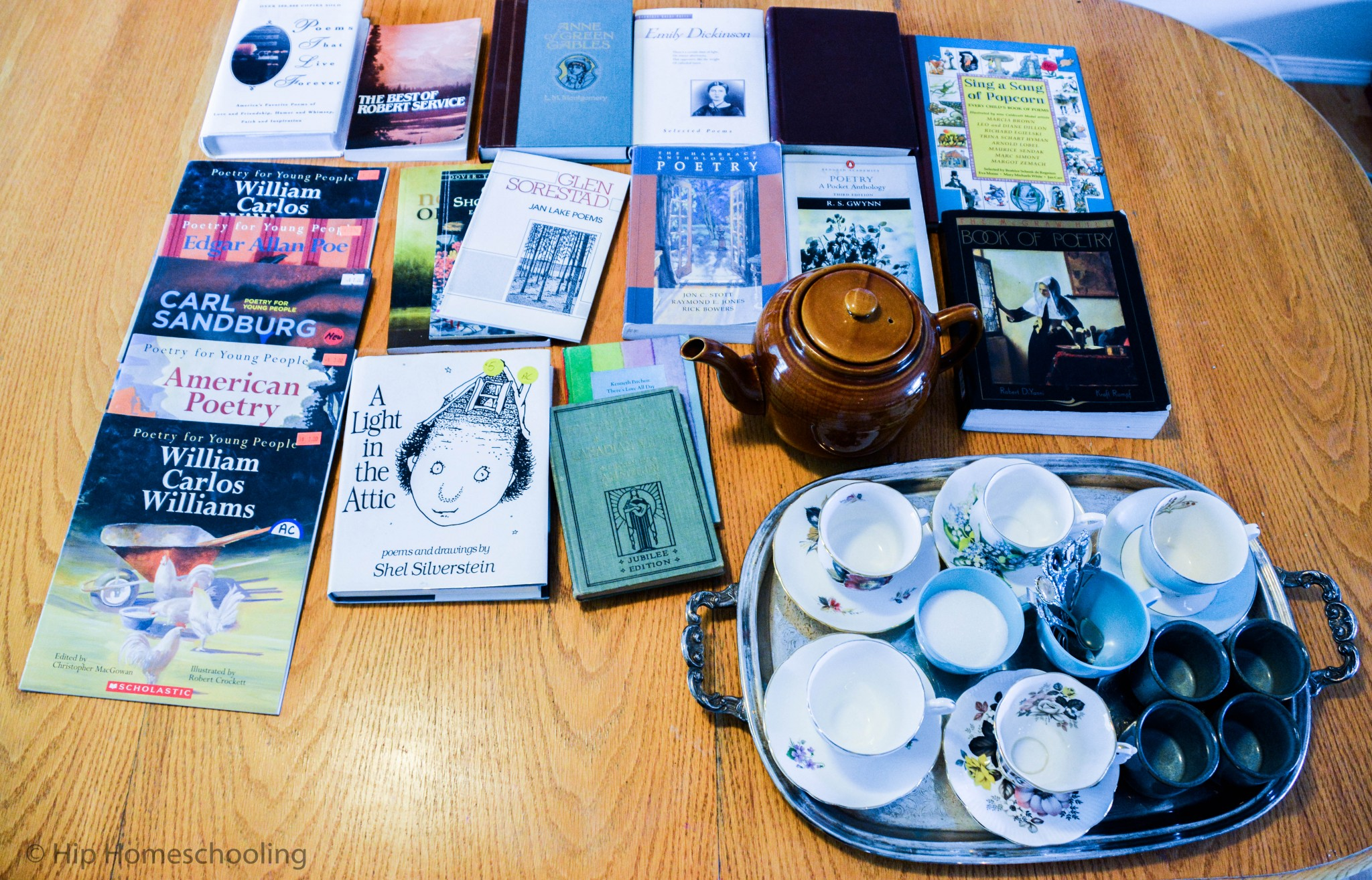 Poetry Teatime books to start with