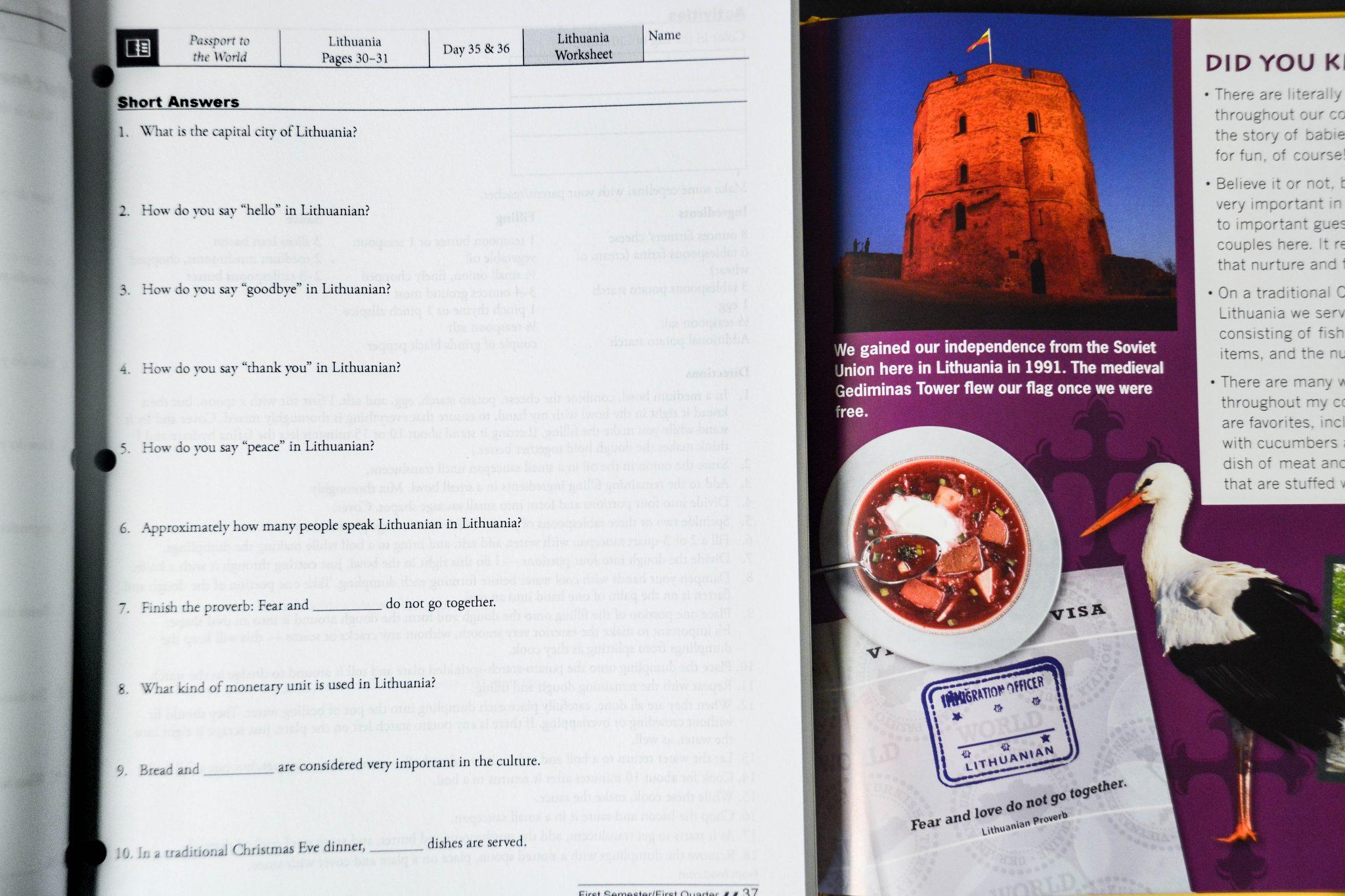 social studies curriculum workbooks
