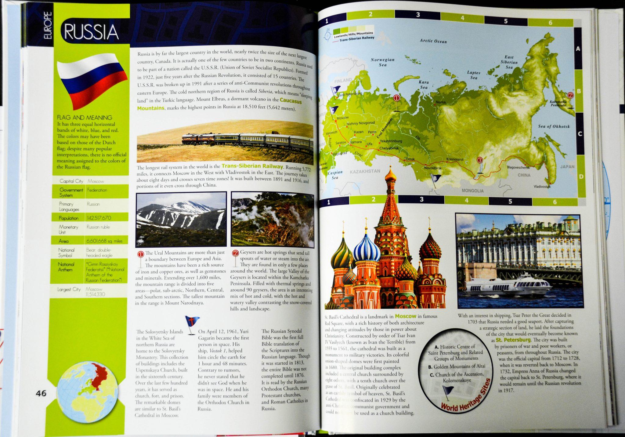 social studies curriculum: world elementary geography