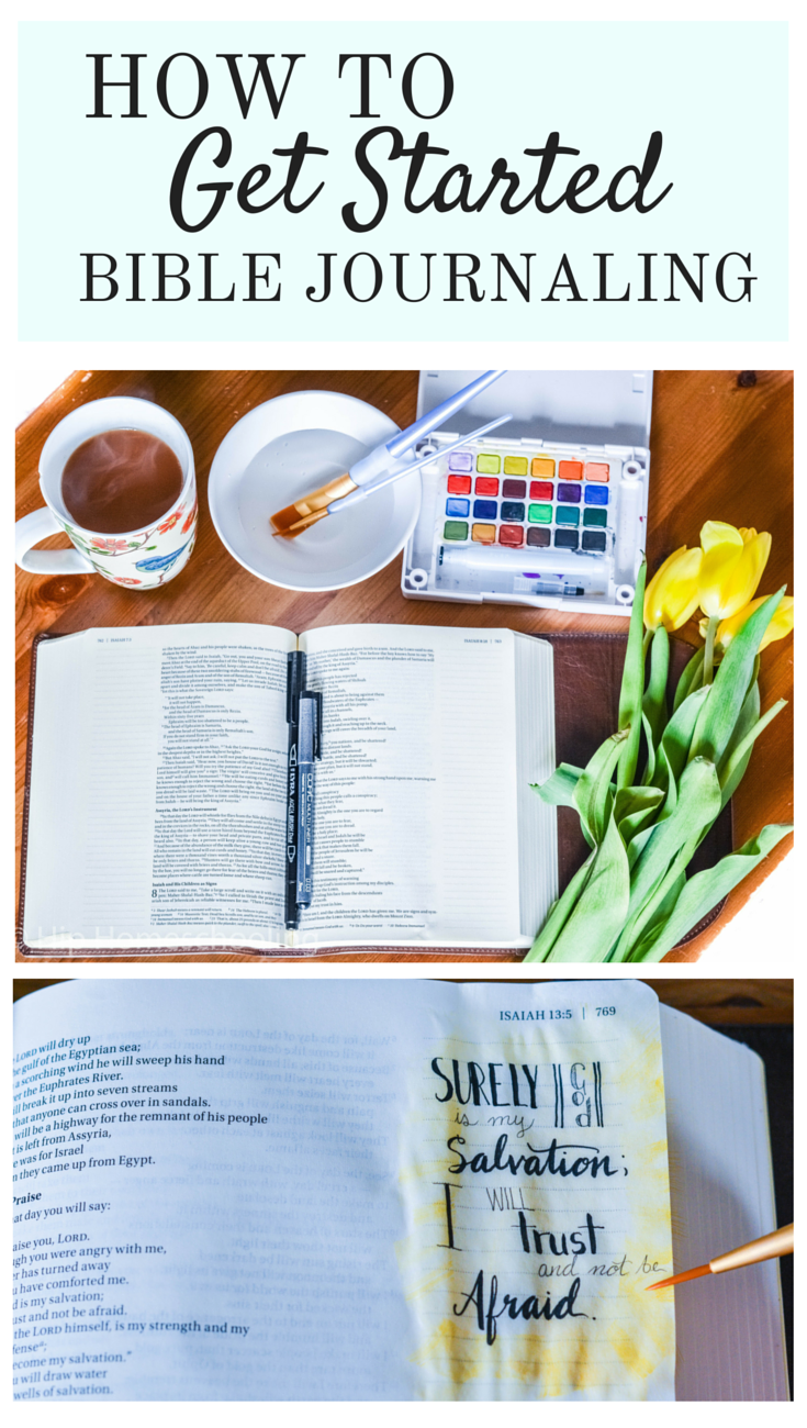 How to Get Started Bible Journaling: Bible Journaling for Beginners | Bible Journaling Supplies | Journaling Bible | NIV Journaling Bible | journaling bible ideas | journaling bible supplies | niv journal bible | niv journaling bible | leather journaling bible