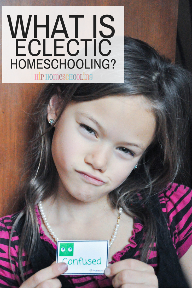Eclectic Homeschooling: A hodgepodge of homeschool styles. What is your homeschool style? Come take the free quiz and learn more about eclectic homeschooling!