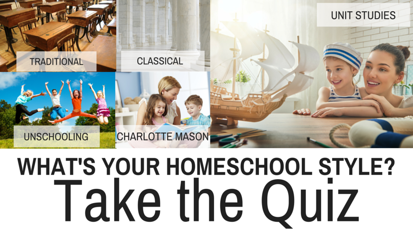The Homeschool Style Quiz