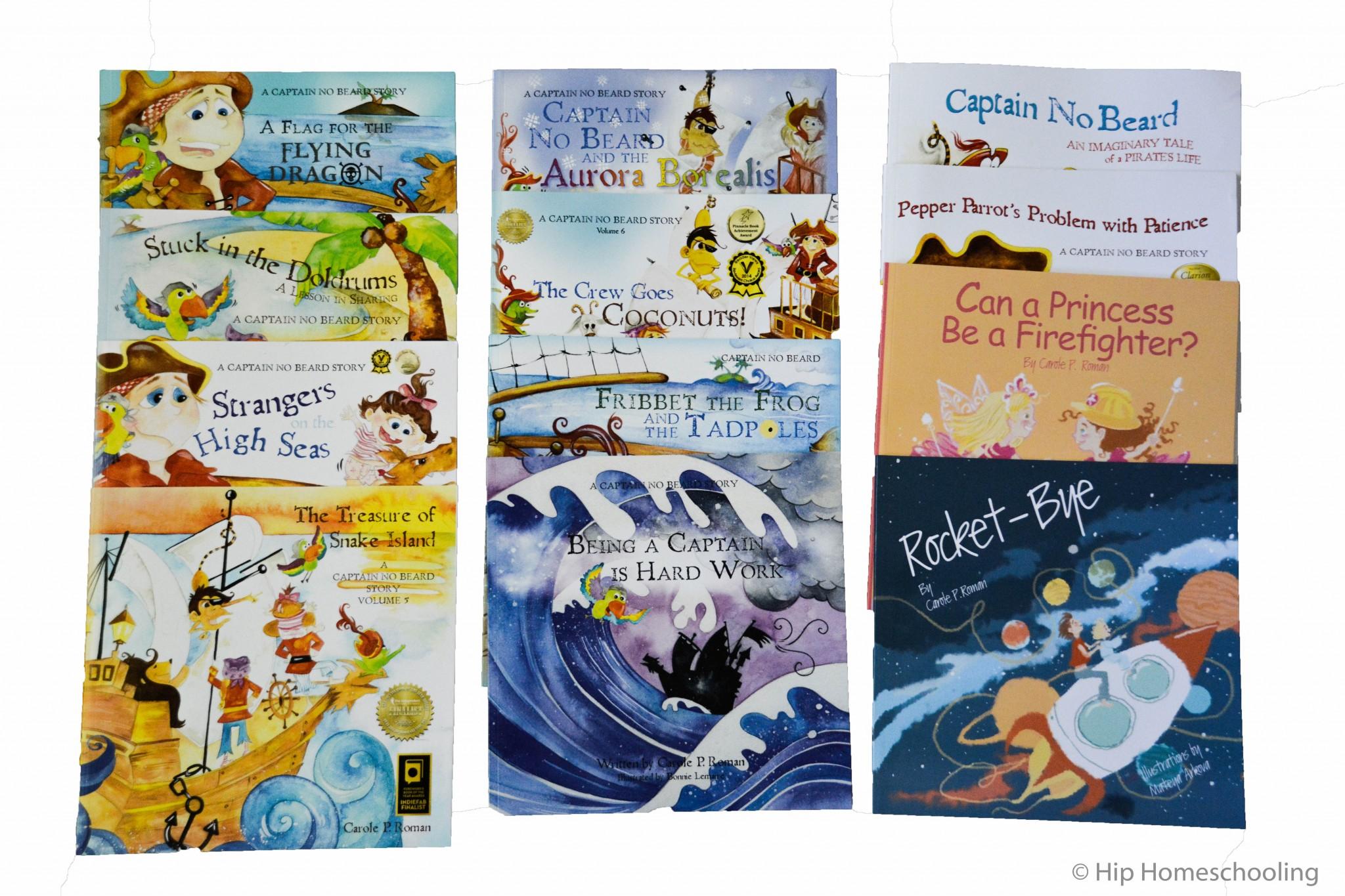 Captain No Beard Series: Short Stories for Kids