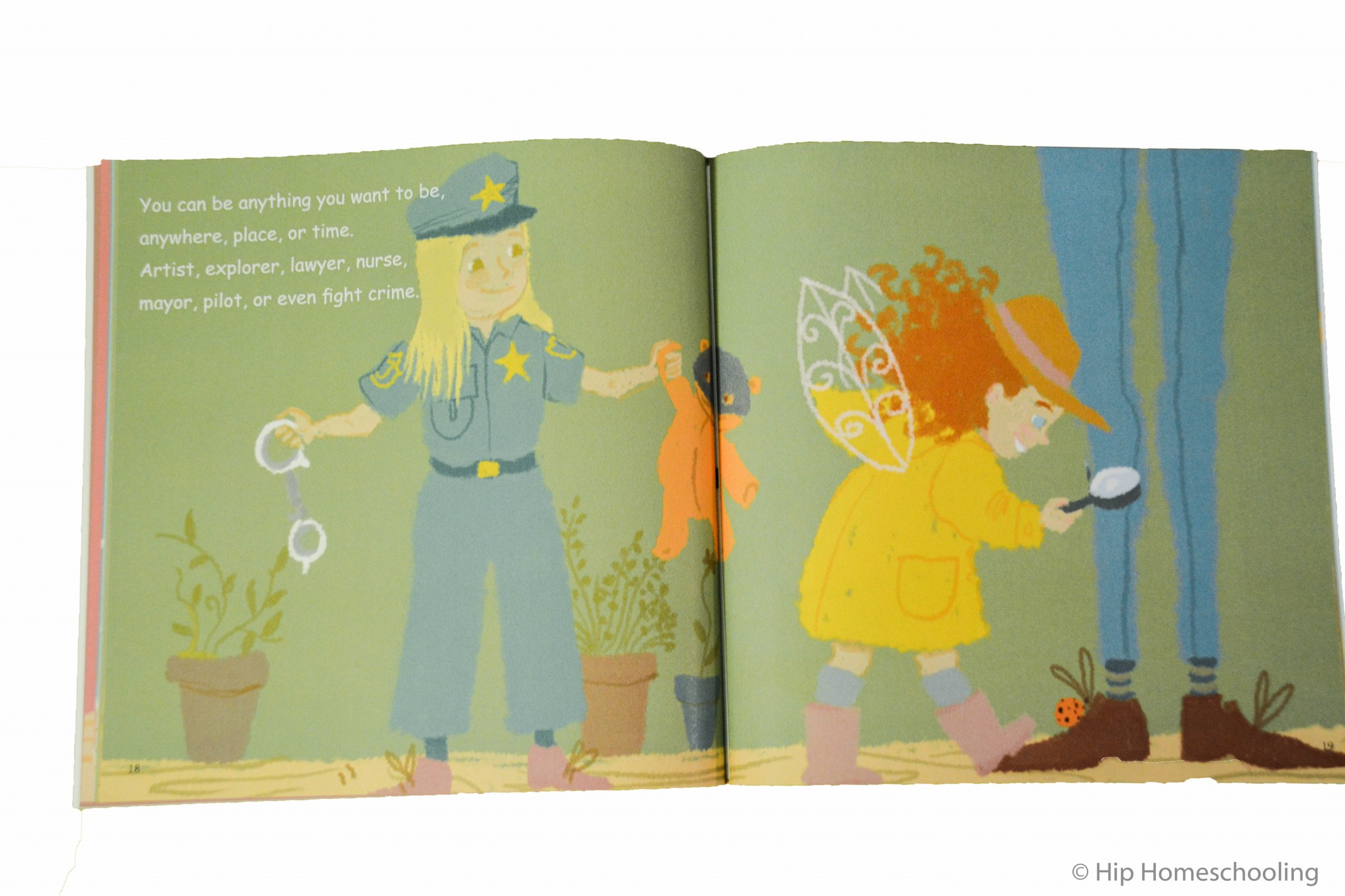 """Can a Princess be a Firefighter?"" inside view: short stories for kids"