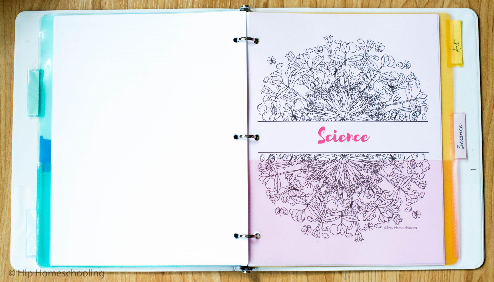 Mom's Master Homeschool Binder Free Printable: How I Set it Up