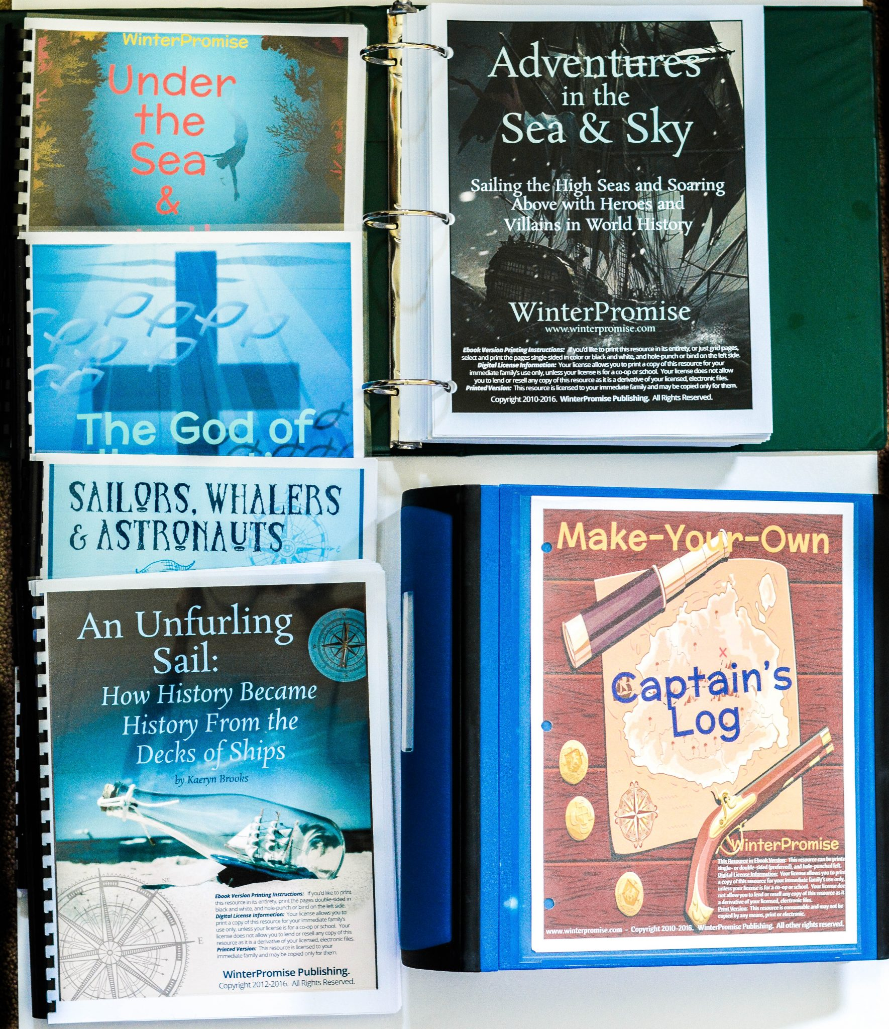 Adventures in the Sea and Sky WinterPromise themed program