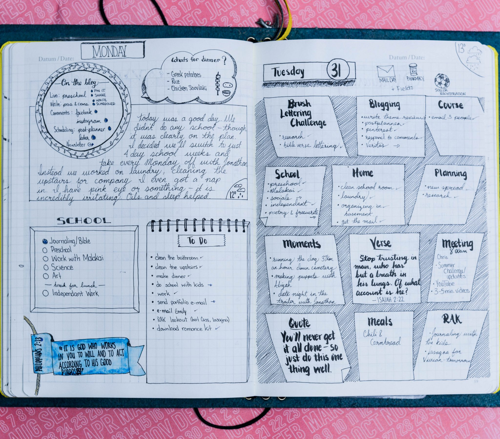 Bullet Journal layout ideas | bullet journaling | bullet journal | bullet journal junkies | bullet journaling community | bullet journal community | bujo | bujo layout | bujo spread | bullet journal spread | bullet journaling ideas | bullet journal ideas | planner ideas | planner spreads