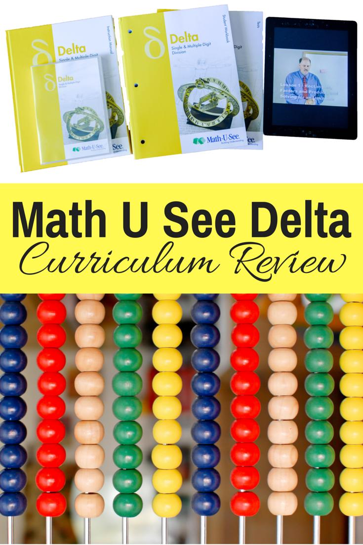 Math U See Delta Review: Homeschool math | homeschool math curriculum | homeschooling math | elementary math | teaching fractions | hands on math | kinesthetic math | curriculum review | math curriculum | math program | how to teach fractions | math manipulatives | fun math