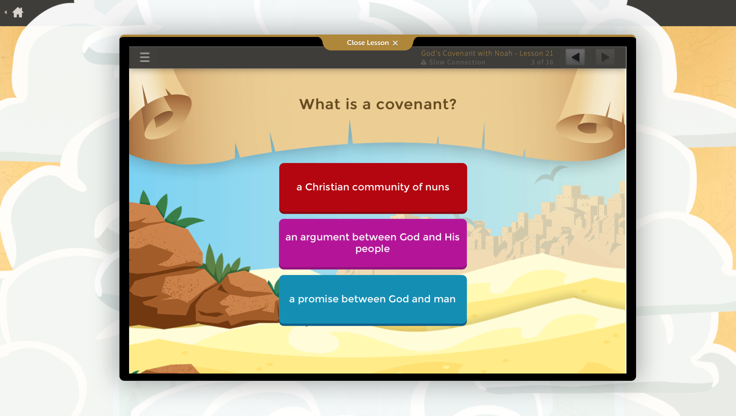 Bible curriculum for kids