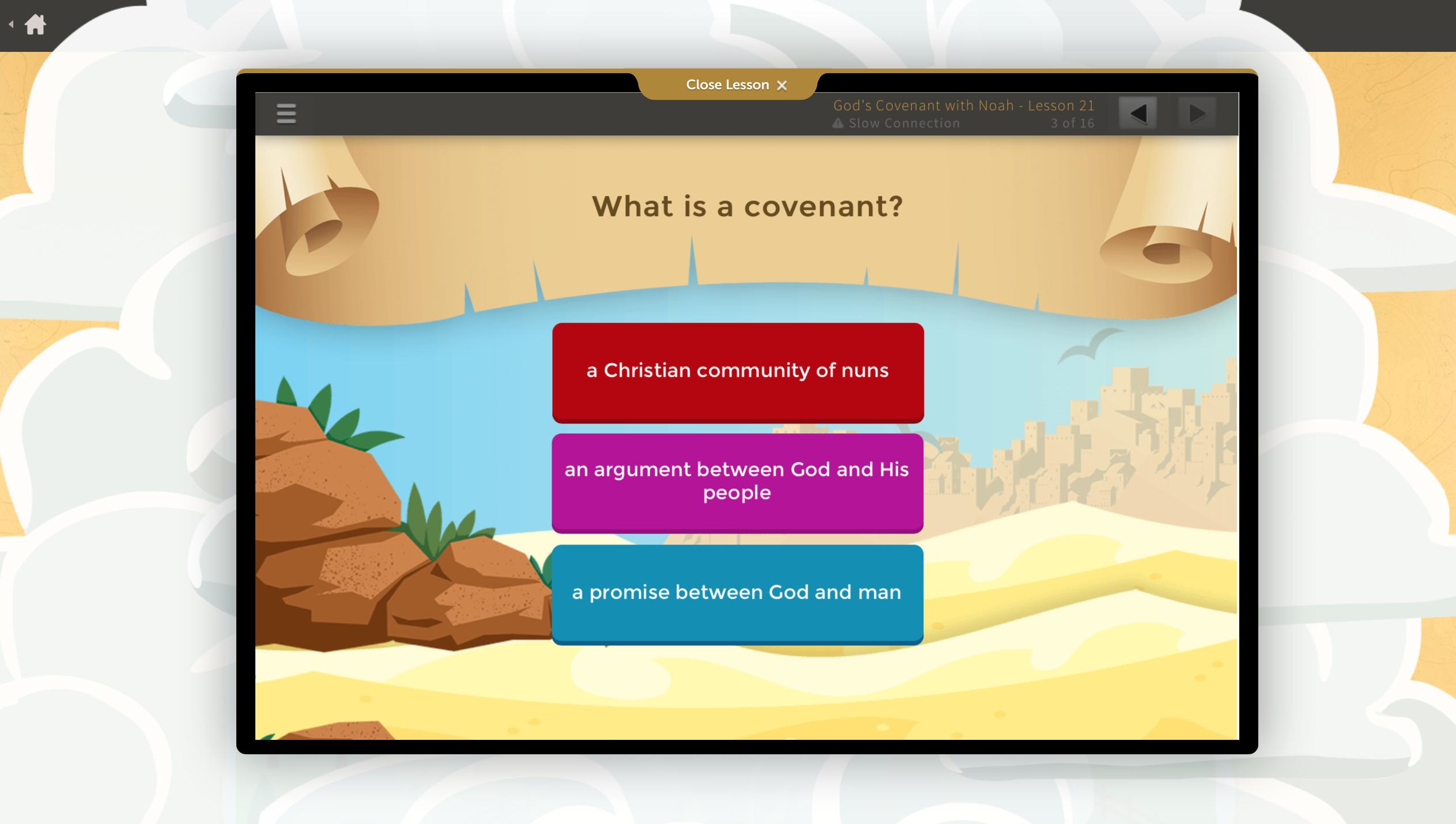 Bible curriculum for kids