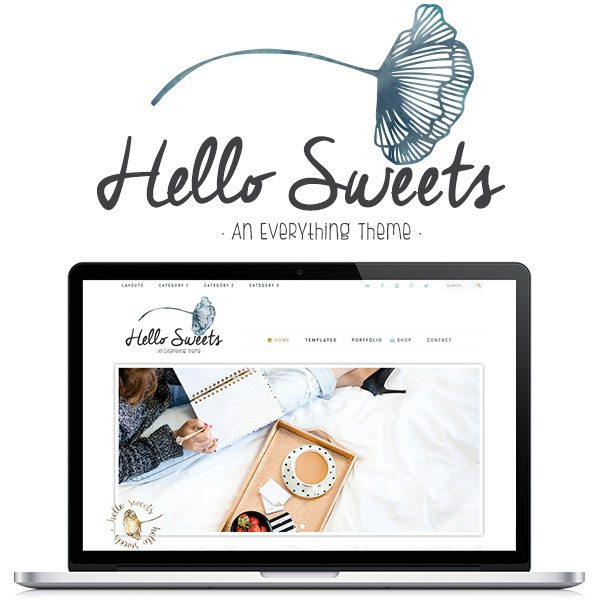 Hello Sweets Theme by Hello You Designs
