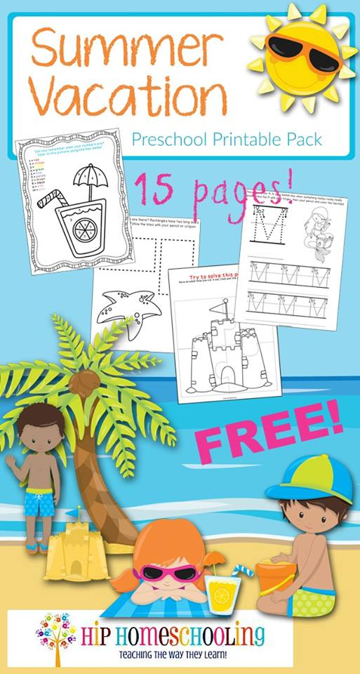 Fun worksheets for preschoolers