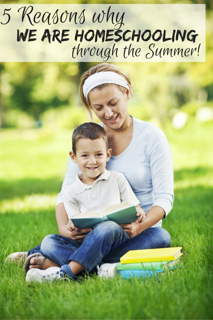 5 Reasons why we are homeschooling through the summer (and what that looks like with 5 kids) | summer school | homeschooling in the summer | summer homeschool | summer homeschool schedule | summer homeschool ideas | summer homeschooling | homeschool tips | new to homeschooling | homeschool encouragement | homeschool blog