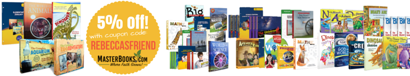 Get 5% off any order at Master Books: CLICK HERE!