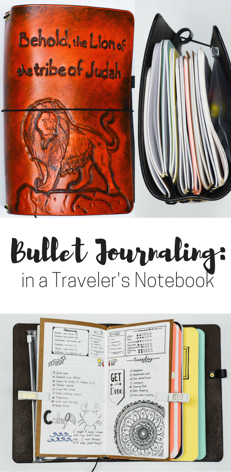 Bullet journaling in a travelers notebook: travelers notebook | travelers notebook ideas | travelers notebook inserts | travelers notebook bullet journal | bullet journaling ideas | bullet journaling layout | bullet journaling printables | bullet journaling | bullet journal ideas | bullet journal layout | bujo | bujo bullet journal | bujo layout | bujo inspiration | bujo weekly | bujo planner | bujo planner organization | bujo planning | bujo planner layout | bullet journal planner layout | bullet journal plan | bullet journal planner organization | meal planning planner | meal plan bullet journal | meal planning inserts