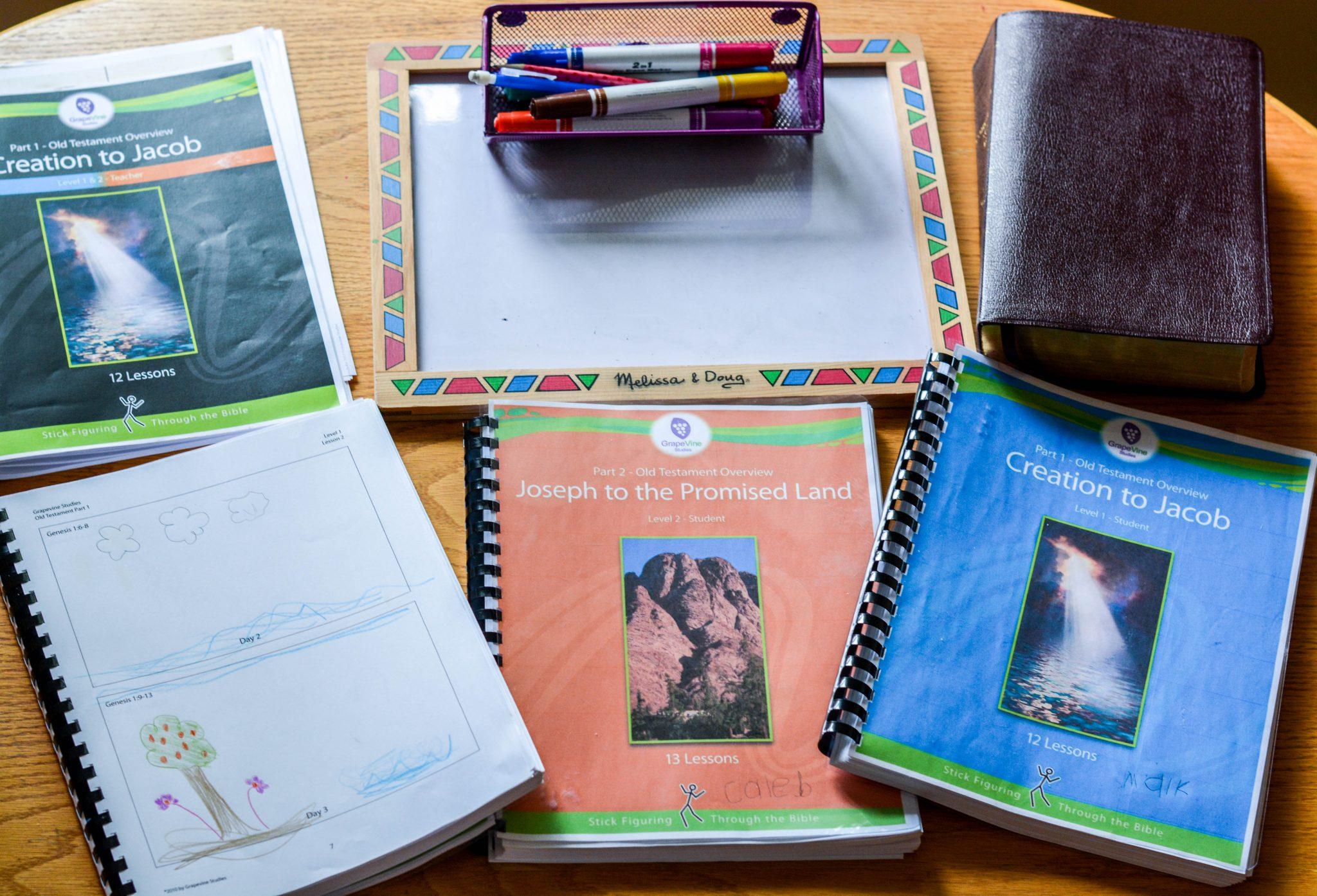 Bible Curriculum for multiple ages