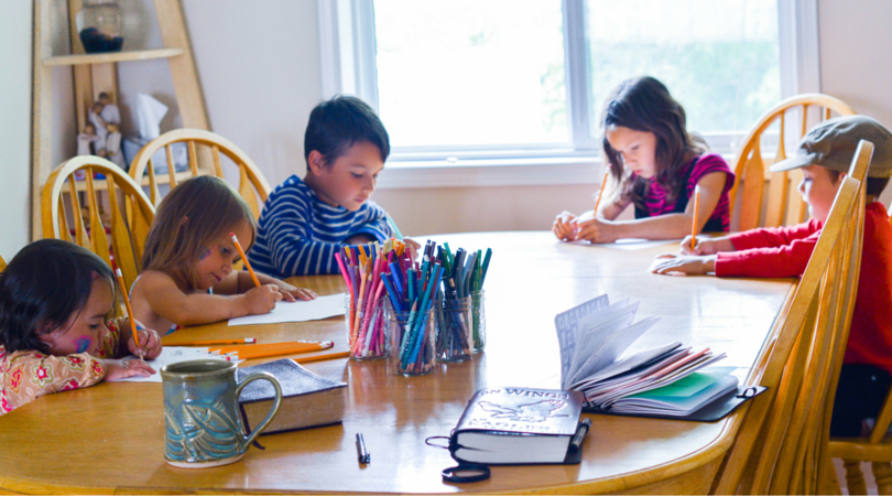 teaching writing to multiple ages at once