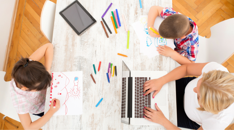 20+ Lessons my Kids are Learning BECAUSE I Work from Home