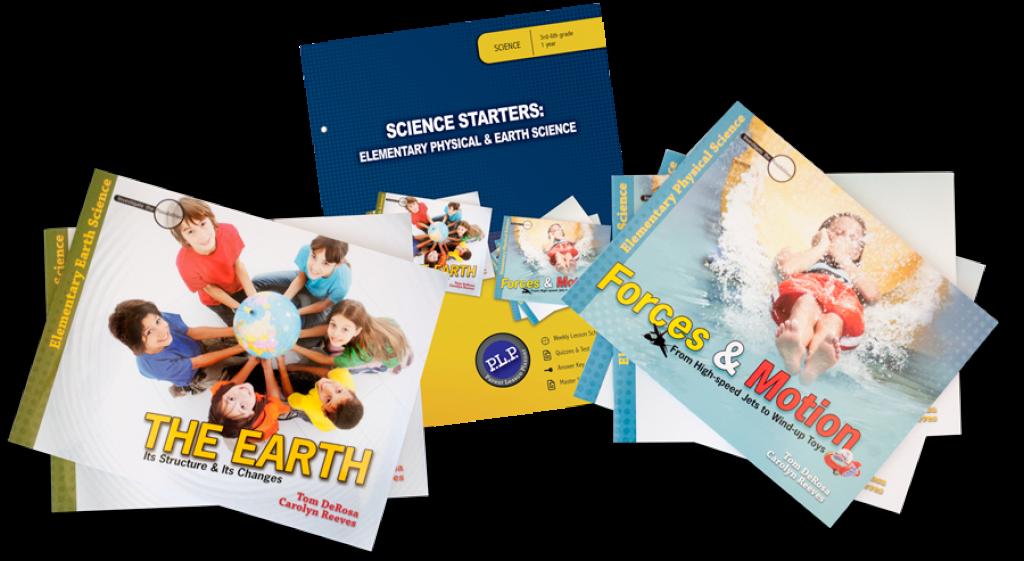 homeschool science curriculum: Science Starter Sets