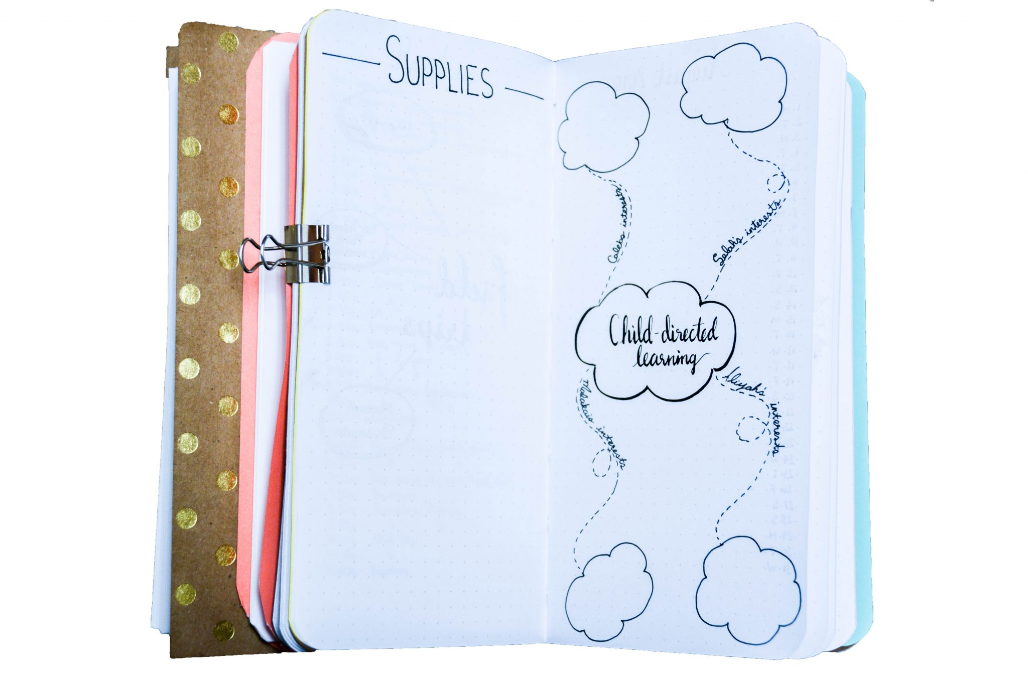homeschool planning: supplies and child-directed learning