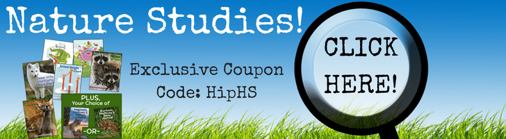 Nature Studies for your Homeschool for Grades PreK-4!