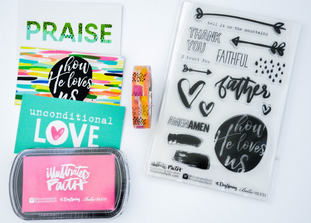 How He Loves Us Devotional Kit-Bible Journaling Supplies
