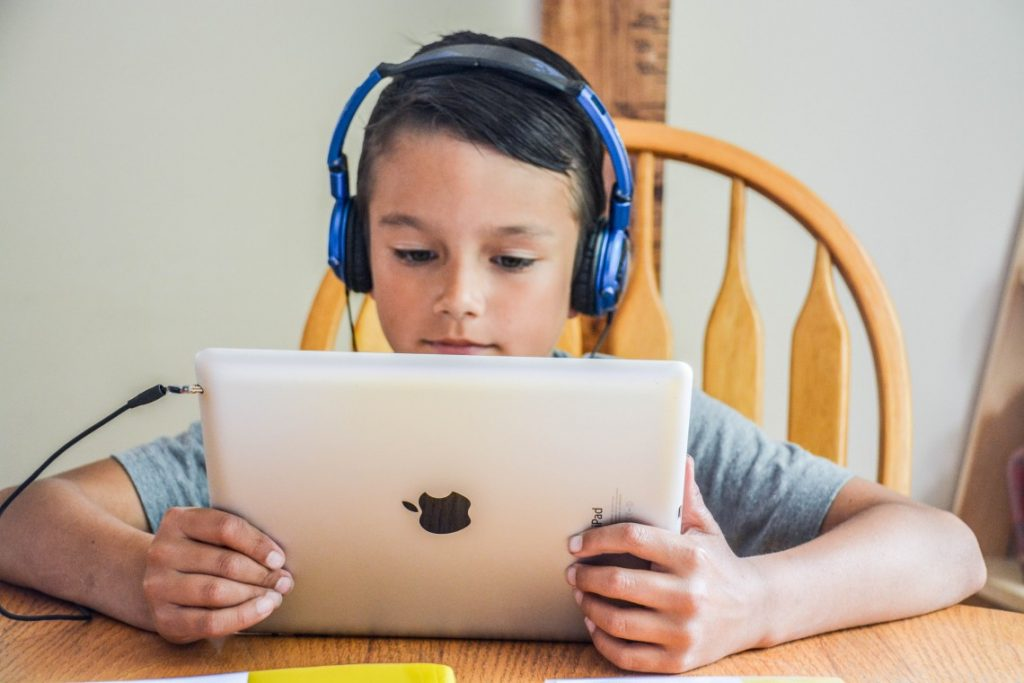 child directed learning with iPads