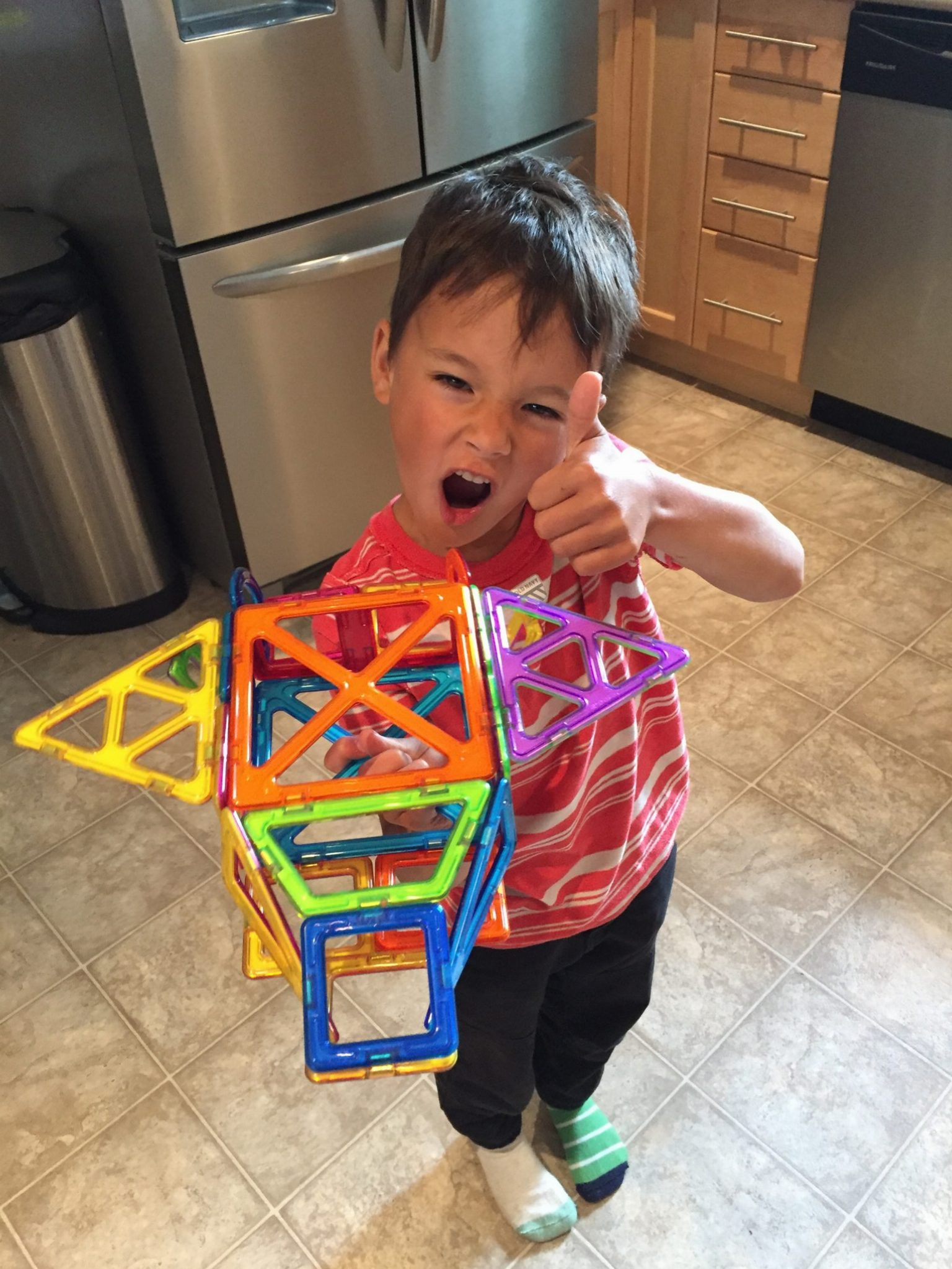 child directed learning wth magformers