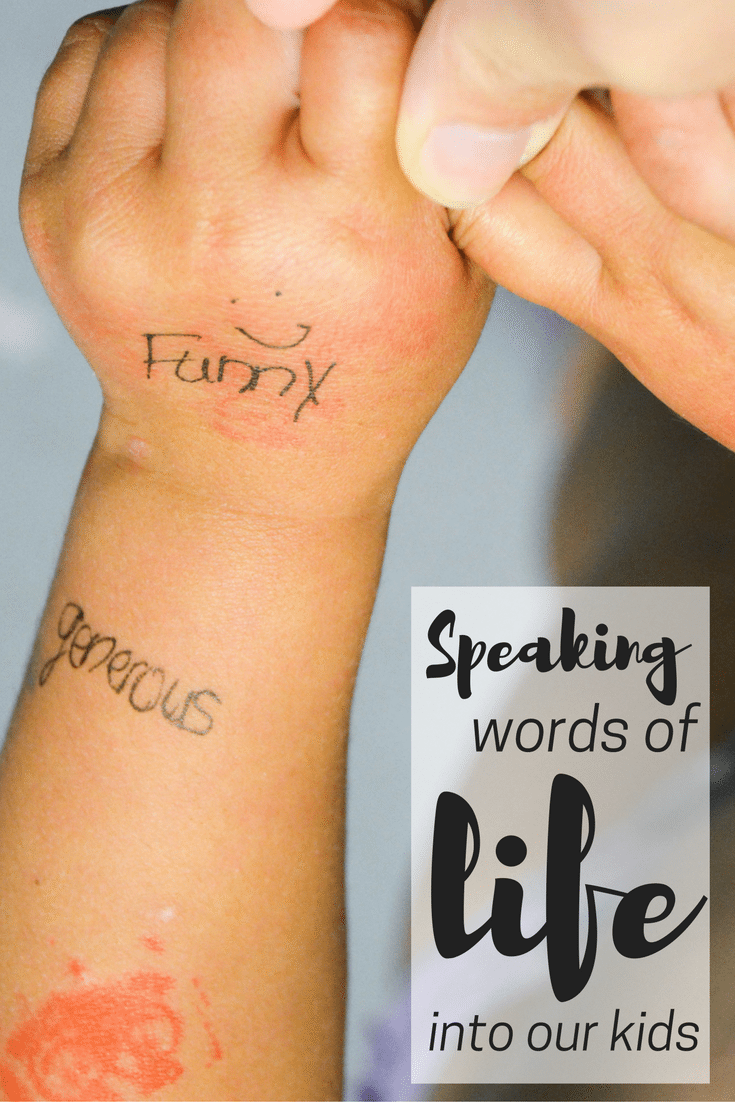 Speaking words of life into our kids: parenting tips   parenting encouragement   homeschool tips   tips for homeschooling   parenting tools   mom life   encouraging my kid   christian women   christian bloggers