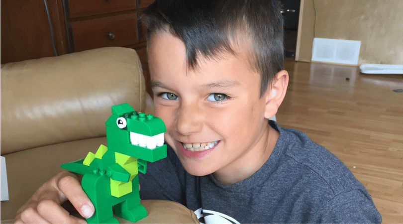 Child Directed Learning with Lego