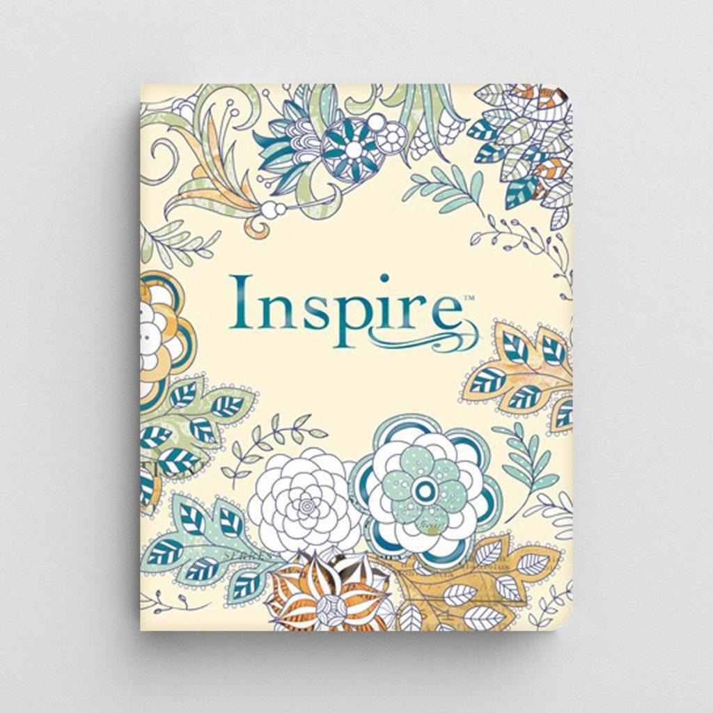Inspire NLT Coloring Journaling Bible $24.99