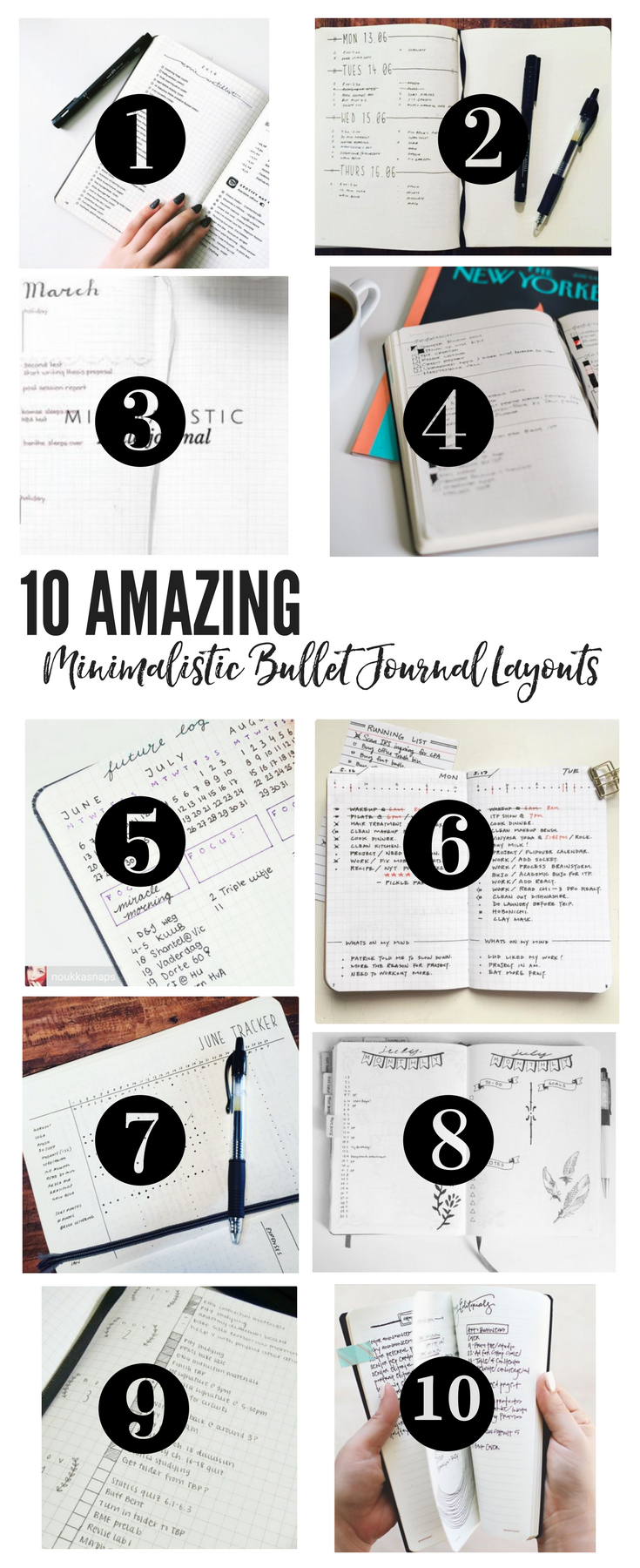 10 Amazing Minimalistic Bullet Journal Layouts | simple minimalistic bullet journal | minimalistic bullet journal ideas | minimalistic bullet journal weekly planner | minimalistic bullet journal posts | minimalistic bullet journal monthly | minimalistic planner | minimalistic planner ideas | minimalistic planner simple | simple bullet journal | simple bullet journal ideas