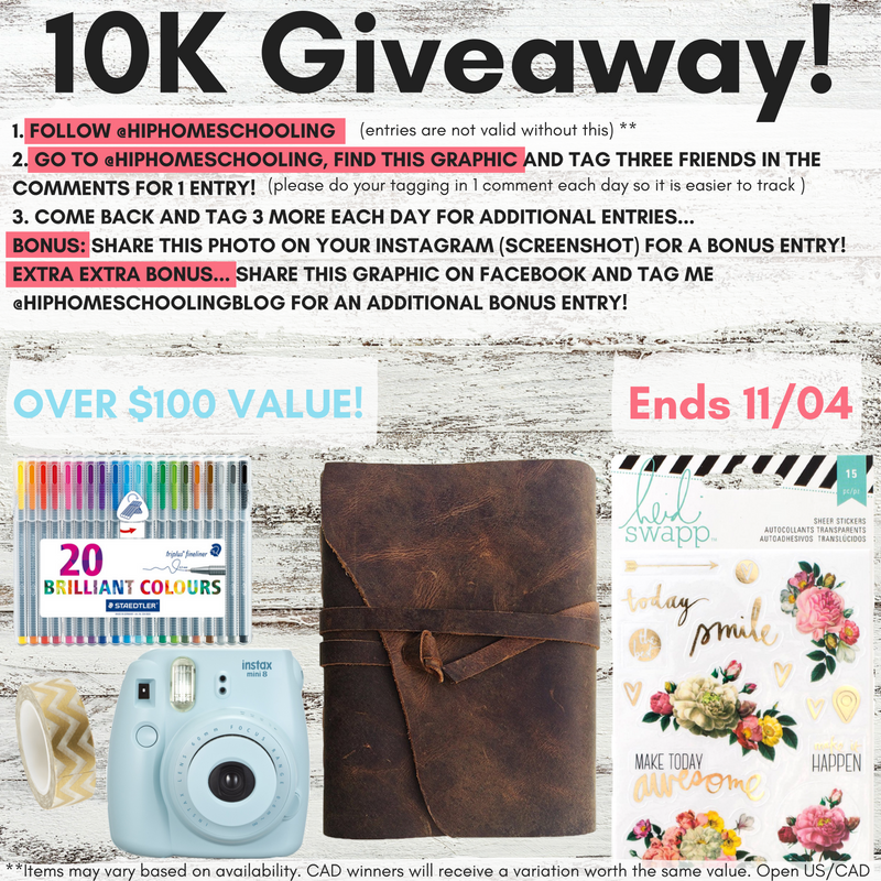 Enter to win this amazing stationary giveaway!