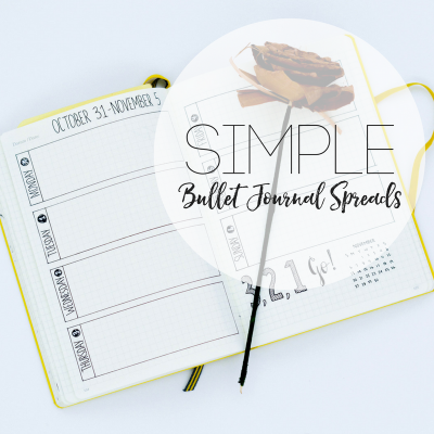 Simple Bullet Journal Inspiration