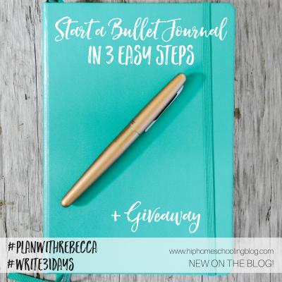 Start a Bullet Journal in 3 easy steps