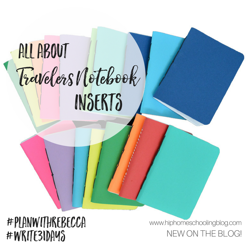 All About Travelers Notebook Inserts
