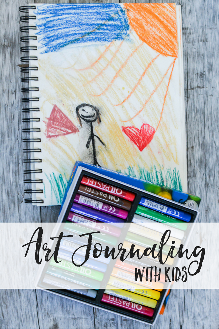 Art Journaling for kids | art journaling with kids | kids art journal | art journaling for kids ideas | art journaling with kids ideas | kids art journal ideas | homeschool art
