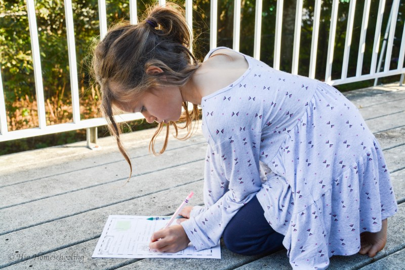 homeschool geography with notebooking