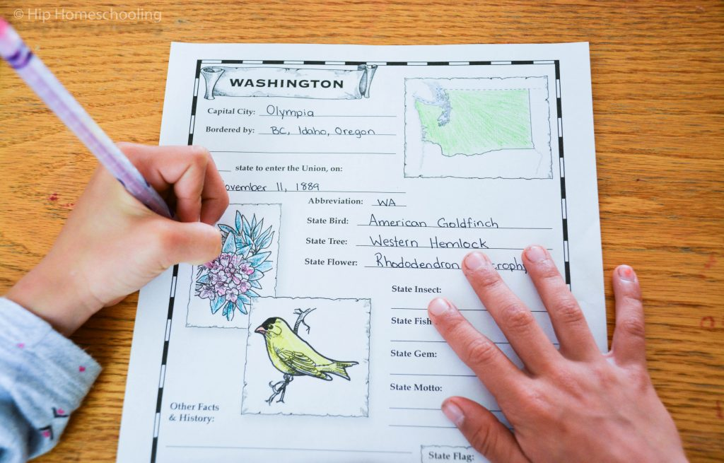 homeschool geography and notebooking