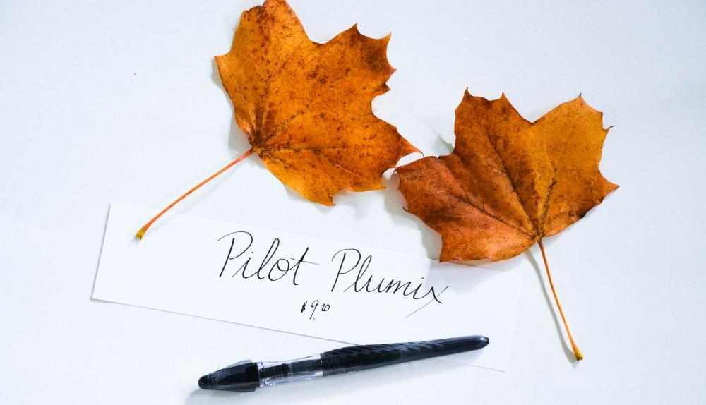 Writing with a Fountain Pen: Pilot Plumix