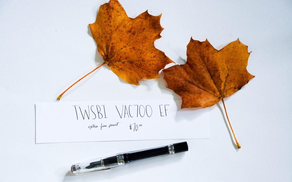 Writing with a Fountain Pen: TWSBI Vac700