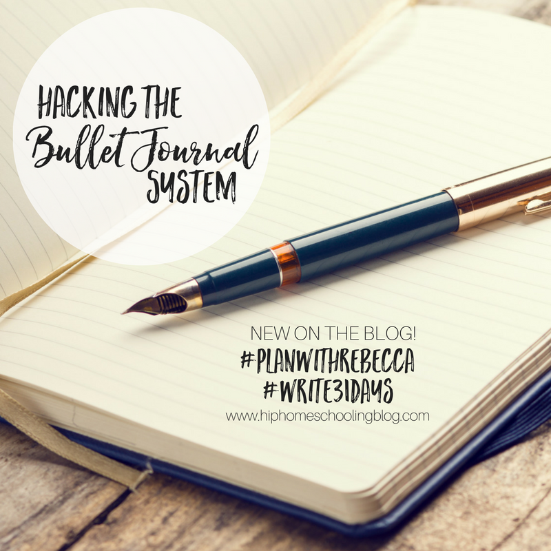 Hacking the Bullet Journal System